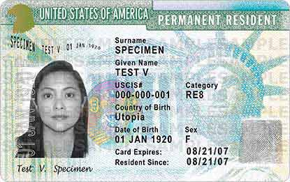 GREEN CARD RENEWAL