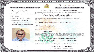 Apply to Replace Citizenship Certificate - Form N-565 Online