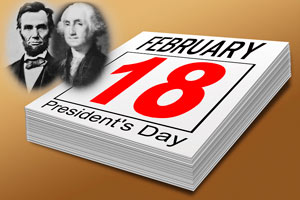 List of American Federal Holidays