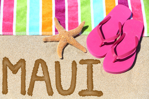 Maui, the second largest Hawaiian island