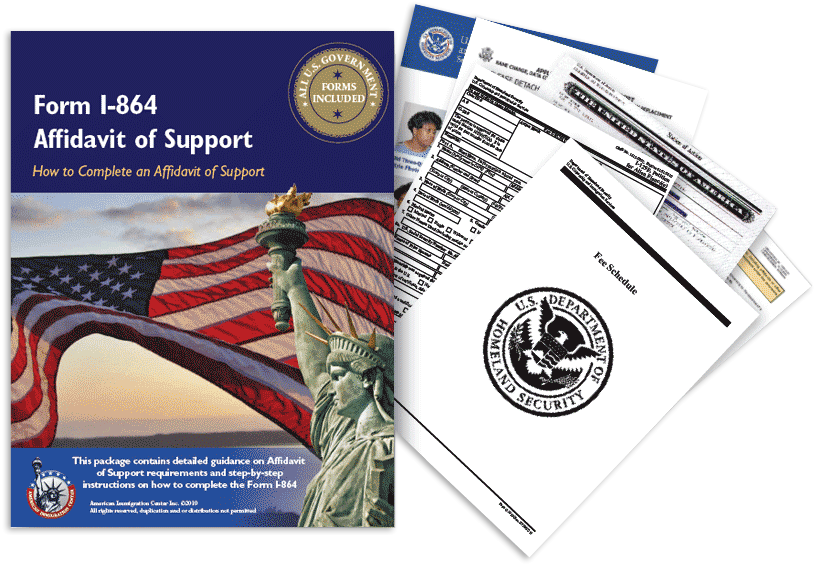 Affidavit Of Support Form I 864 Application Guide