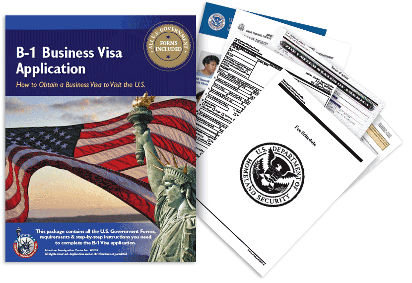 B-1 Business Visa Application, B1 Visa Forms and Requirements