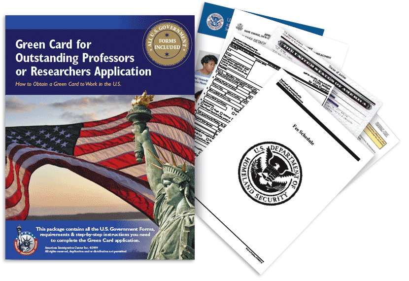 Immigrant Visa for Outstanding Researchers/Professors