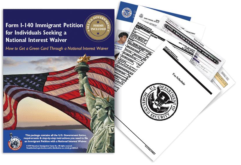 National Interest Waiver Green Card, Form I-140