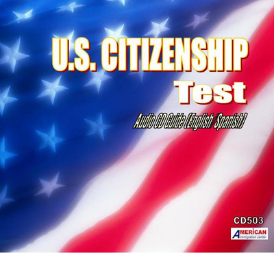 U.S. Citizenship Exam Guide AUDIO CD (Spanish)