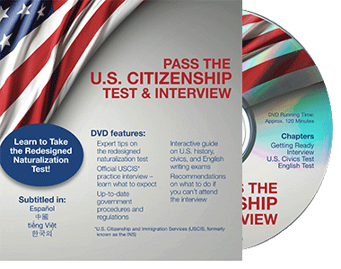 Pass the U.S. new citizenship test & interview
