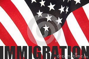 american flag immigration
