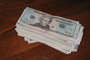 dollars notes bills money